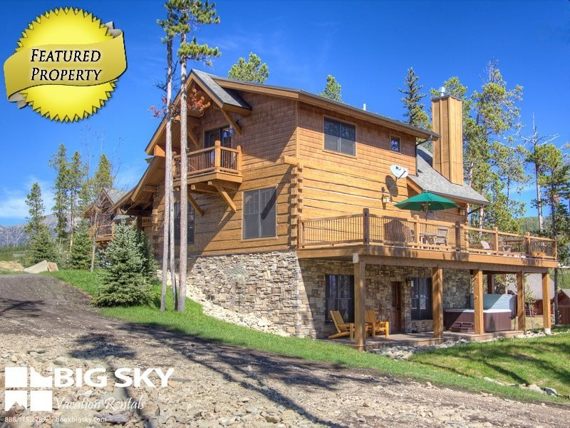 Big Sky Resort | Powder Ridge Cabin 4B Oglala - Image 1 - Big Sky - rentals