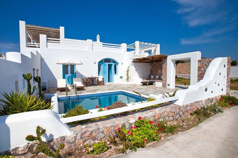 Blue Villas | Zephyros | Spectacular new villa - Image 1 - Vourvoulos - rentals