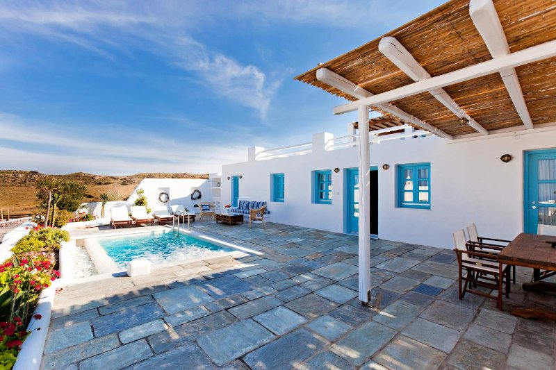 Blue Villas | Skiron | Private Plunge pool - Image 1 - Vourvoulos - rentals