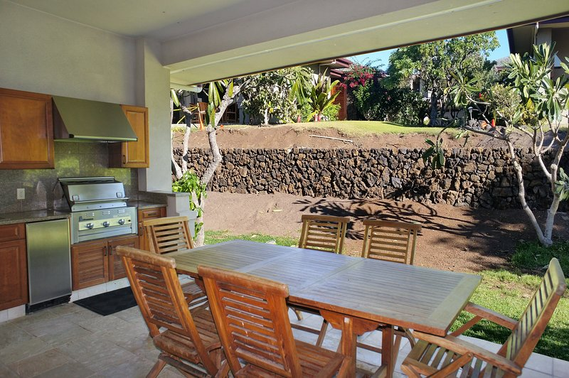 Spacious Covered Lanai with Private BBQ - Exclusive Mauna Lani Villages #512-MLV 512 - Kamuela - rentals