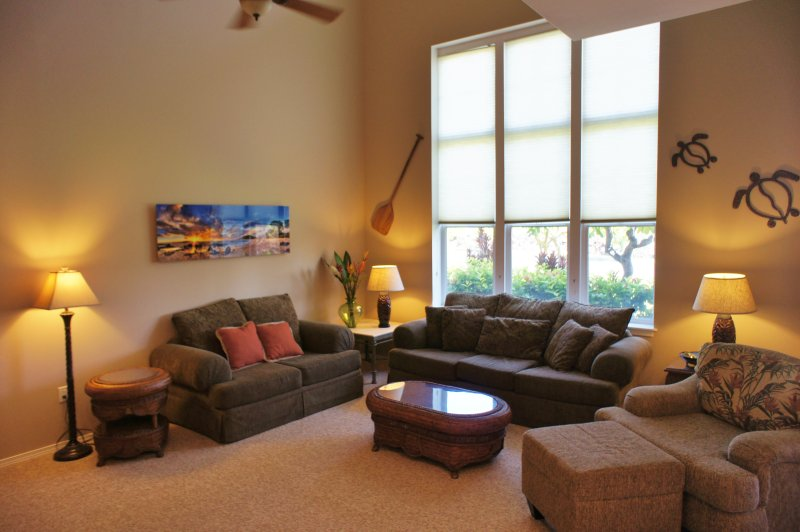 Living Area - Waikoloa Colony Villas 2403 - Waikoloa - rentals