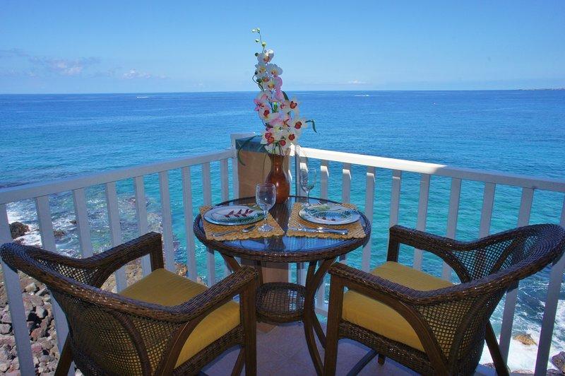 Perfect Ocean Front Location - Sea Village 4313 - Kailua-Kona - rentals