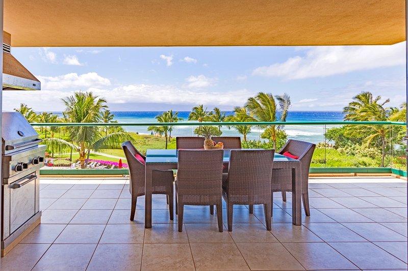 Konea 350--OCEAN FRONT Alii Residence with Viking Grill - Maui Resort Rentals: Konea 350 * Honua Kai - Lahaina - rentals
