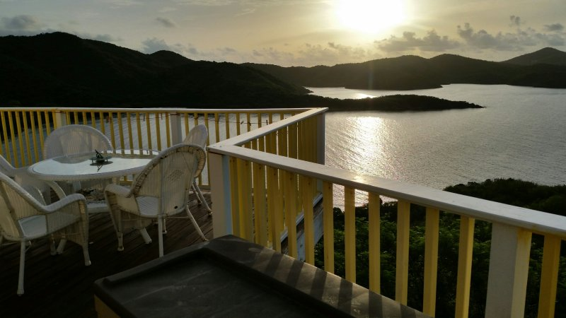 Sweet Wind Villa overlooking Hurricane Hole - Image 1 - Coral Bay - rentals