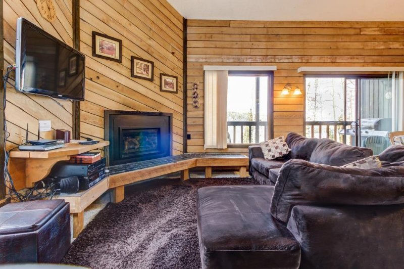 Gorgeous dog-friendly ski in/ski out getaway next to slopes - great for families - Image 1 - Brian Head - rentals