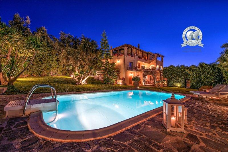 Nominee for World Travel Awards in Greece's Leading Luxury Private Villa 2015-16-17 - Bozonos Luxury Villa & Spa - Zakynthos - rentals