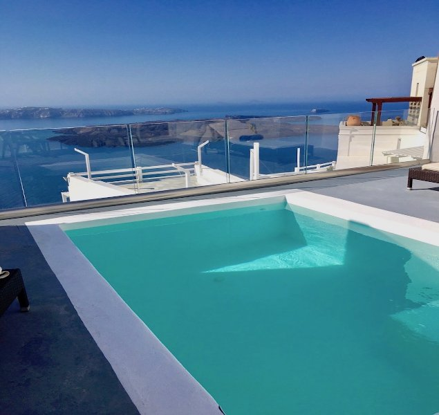 PRIVATE POOL with views to INFINITY - LOCATION LOCATION LOCATION-PRIVATE POOL with views to INFINITY - Imerovigli - rentals