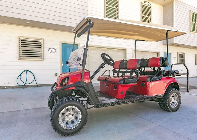 Free Golf Cart - Surfin' Seahorse: Walking Distance to Beach, Wifi, Pool, *FREE GOLF CART *ST - Port Aransas - rentals