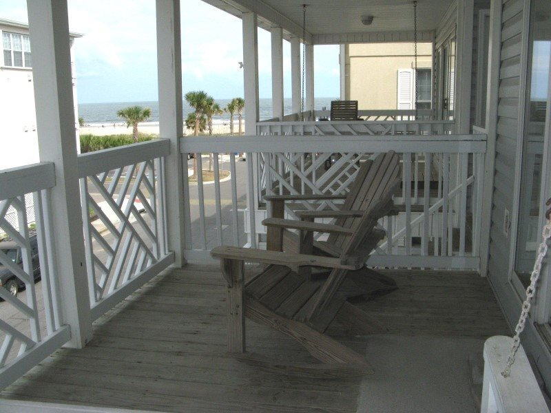 South Beach Ocean Condos, South - Unit 6 - Just Steps to the beach - Ocean View - Image 1 - Tybee Island - rentals