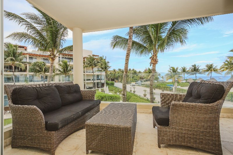 Stunning Killer View Beachfront Retreat - Castillo - Image 1 - Playa del Carmen - rentals
