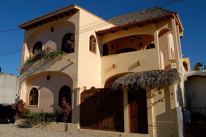 Street view - Casa de los Milagros - Duplex in town! - San Pancho - San Pancho - rentals