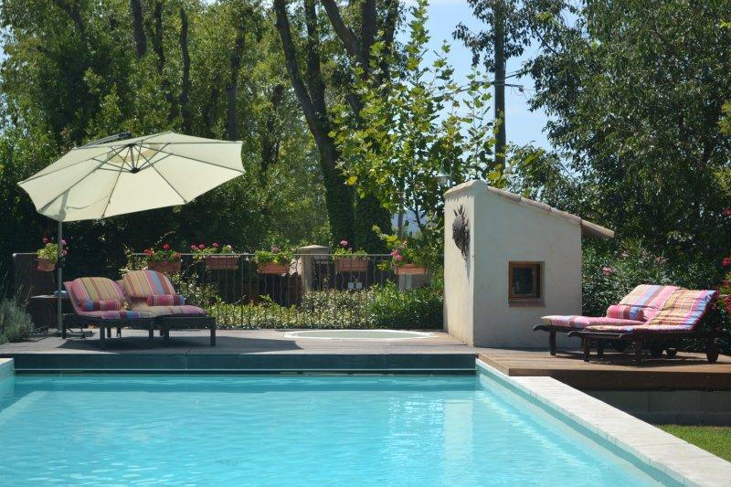 La Tour at Provence Paradise / 2 BR / Wifi / AC / Pool - Image 1 - Saint-Remy-de-Provence - rentals