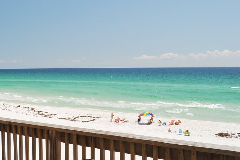 Balcony Sandollar Townhomes Unit 9B Miramar Beach House Rentals Destin Florida - Sandollar Townhomes, Unit 09B - Destin - rentals