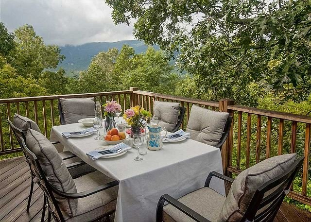 Views! Views! This Farmhouse French style home will have you coming back! - Image 1 - Black Mountain - rentals