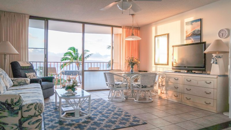 Beautiful self contained studio with gorgeous oceanfront views - VACATION RENTAL ON KAHANA BEACH, WEST MAUI, HAWAII - Lahaina - rentals