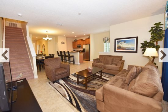 Paradise Palms Resort 5 Bedroom 4 Bath Town Home. 8981CPR - Image 1 - Four Corners - rentals