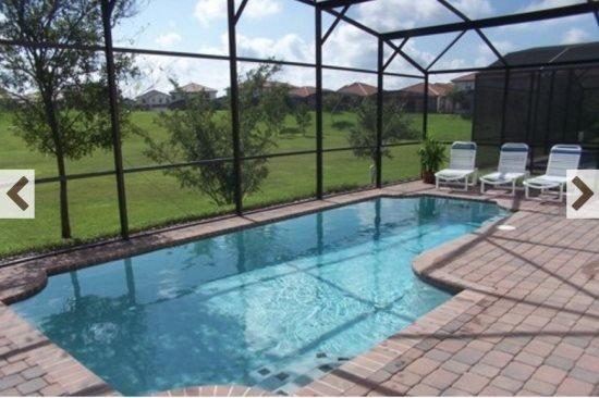 Disney 5 Bedroom 3 Bath Pool Home in Gated Community. 308SPL - Image 1 - Four Corners - rentals