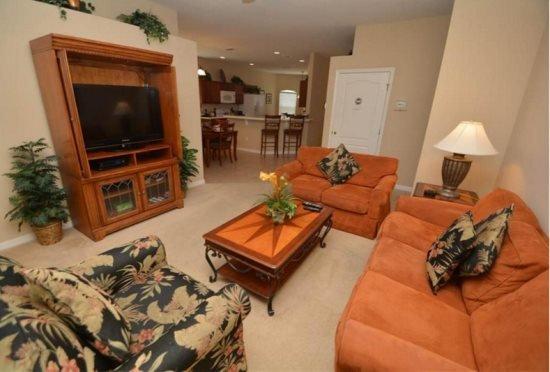 4 Bedroom 3 Bath Villa with Spa and 2 Master Suites. 146EP - Image 1 - Orlando - rentals