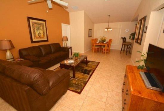 3 Bedroom 3 Bath Pool Home with Lake View. 163SC - Image 1 - Orlando - rentals