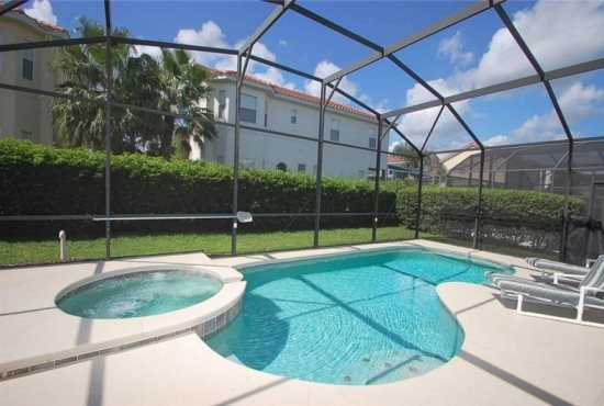4 Bed 3 Bath with Pool & Spa Home in Tuscan Hills. 1039TH - Image 1 - Orlando - rentals