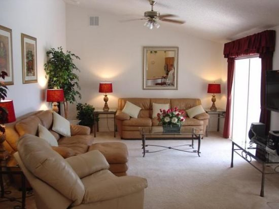 Relaxing 4 Bedroom 3 Bath Pool and Spa Home. 3016SHC - Image 1 - Orlando - rentals