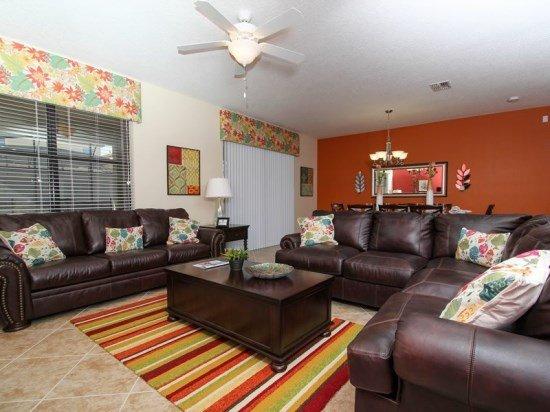 Luxurious 9 Bedroom Pool Home In ChampionsGate Resort Sleeps 22. 1410WW - Image 1 - Orlando - rentals