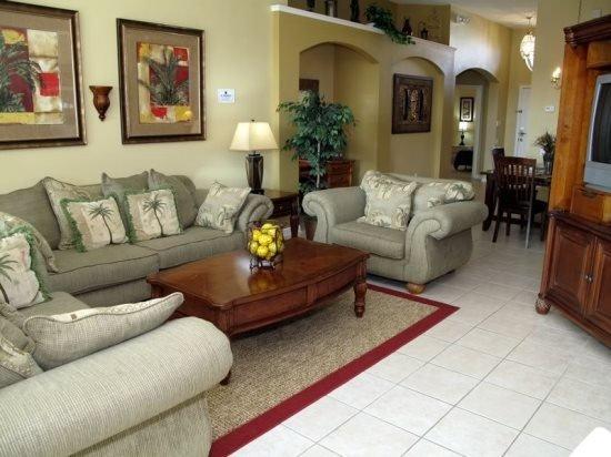 4 Bedroom 3 Bath Pool Home in Gated Resort. 8024KPC - Image 1 - Orlando - rentals