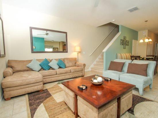 5 Bedroom 4 Bath Town Home In Paradise Palms Sleeps 13. 8950COCO - Image 1 - Orlando - rentals