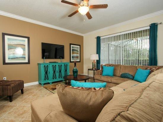 6 Bedroom 5 Bath Paradise Palms Resort Home with Pool & Spa. 2967BUCC - Image 1 - Orlando - rentals