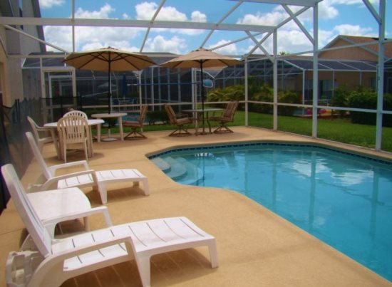Beautiful 5 Bed 4 Bath Pool Home in Hampton Lakes. 159EA - Image 1 - Kissimmee - rentals