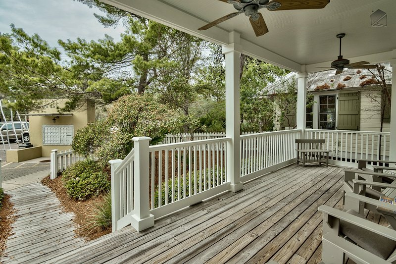 Gulf views, roof deck, community pool access on quiet street - The Five SeaSons - Image 1 - Seagrove Beach - rentals