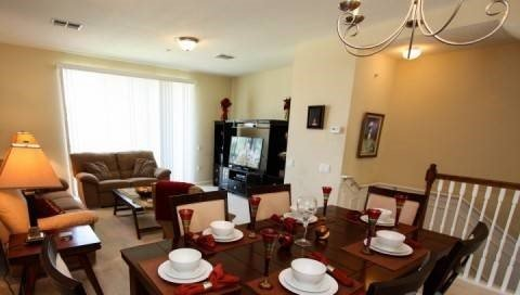 Beautiful 3 Bedroom 3.5 Bath Town Home Close to Universal in Orlando. 4815TA-161 - Image 1 - Orlando - rentals