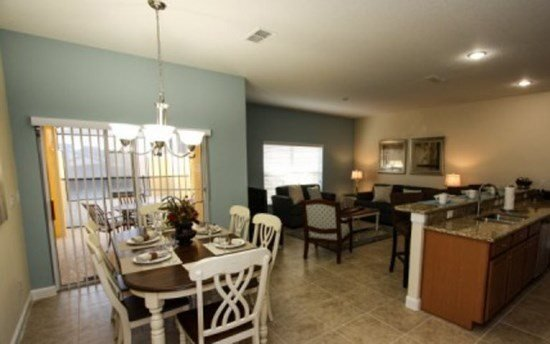 Stunning 4 Bedroom 3 Bathroom Paradise Palms Home. 8962CAL - Image 1 - Orlando - rentals