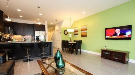 3 Bedroom 3 Bathroom Townhome with Splash Pool. 17530PA - Image 1 - Orlando - rentals