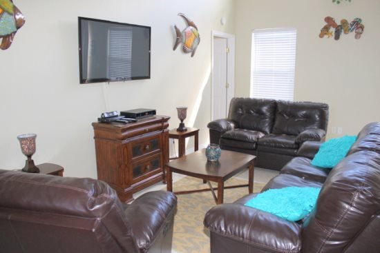 4 Bedroom Home With South Facing Pool. 606CD - Image 1 - Orlando - rentals