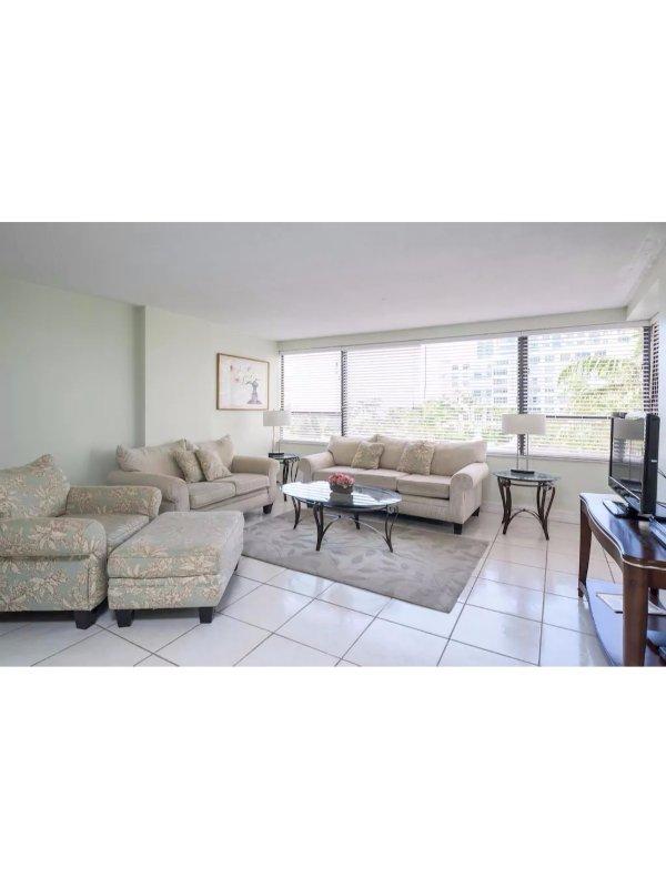Signature Two Bedroom Two Bath Suite with Balcony 1AX2FZC - Image 1 - Miami Beach - rentals