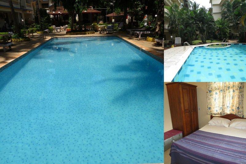 39) 1 Bed Apartment CDB Resort Calangute  & WiFi sleeps 4 - Image 1 - Calangute - rentals