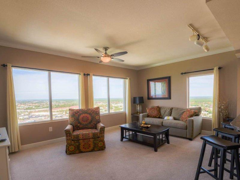 Beautiful Designer Unit with Coastline Balcony - Image 1 - Panama City Beach - rentals