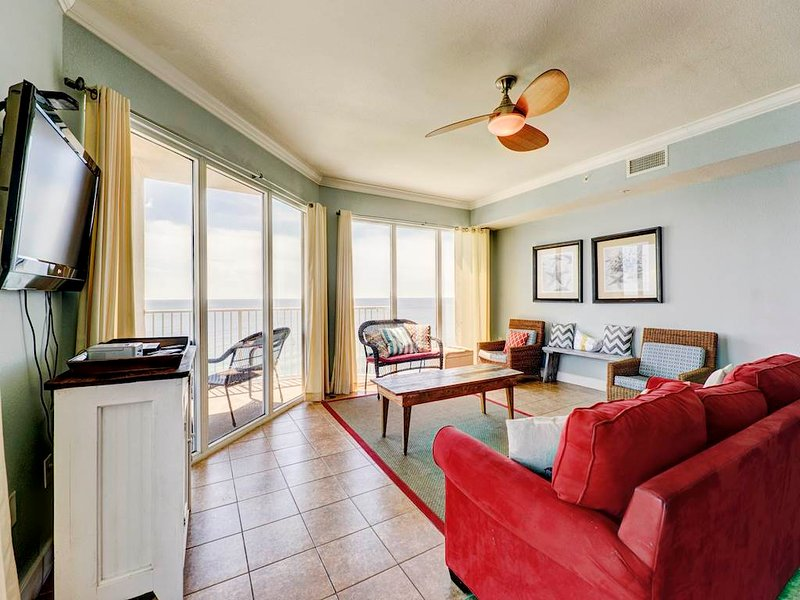 3 Bedroom Luxury Gulf Front Unit at Tidewater - Image 1 - Panama City Beach - rentals