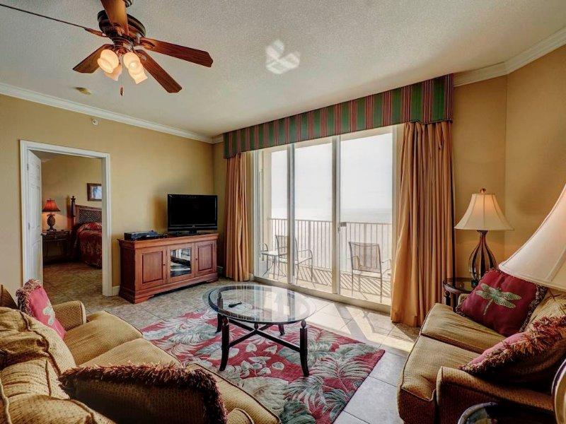 3 Bedroom Waterfront Vacation Home at Tidewater - Image 1 - Panama City Beach - rentals