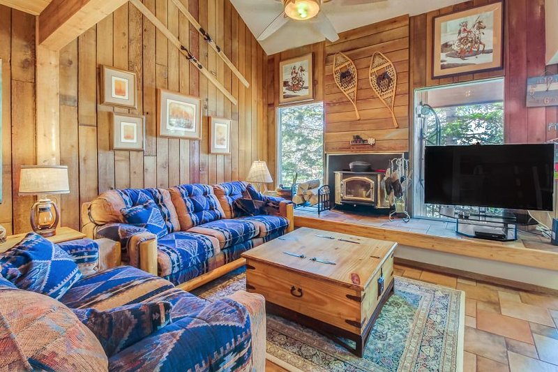 Rustic and bright lodging close to slopes with impeccable great views! - Image 1 - Brian Head - rentals