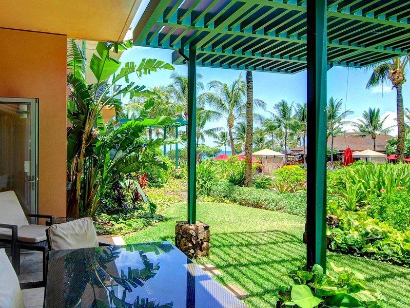 Maui Resort Rentals: Groundfloor Interior Honua Kai Hokulani 105 - Image 1 - Lahaina - rentals