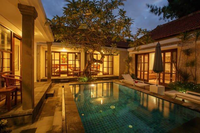 Bali Sanur Beach Villas, Villa 4 Modern 3 BR, Central Sanur - Image 1 - Sanur - rentals