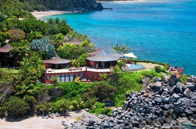 Luxury 5 bedroom Virgin Gorda, BVI villa. Private Beach, Chef and Spa/Yoga - Image 1 - Nail Bay - rentals