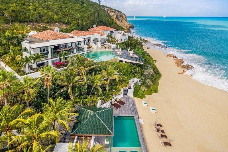 Luxury 7 bedroom St. Martin villa. On beautiful Baie Rouge Beach! - Image 1 - Baie Rouge - rentals