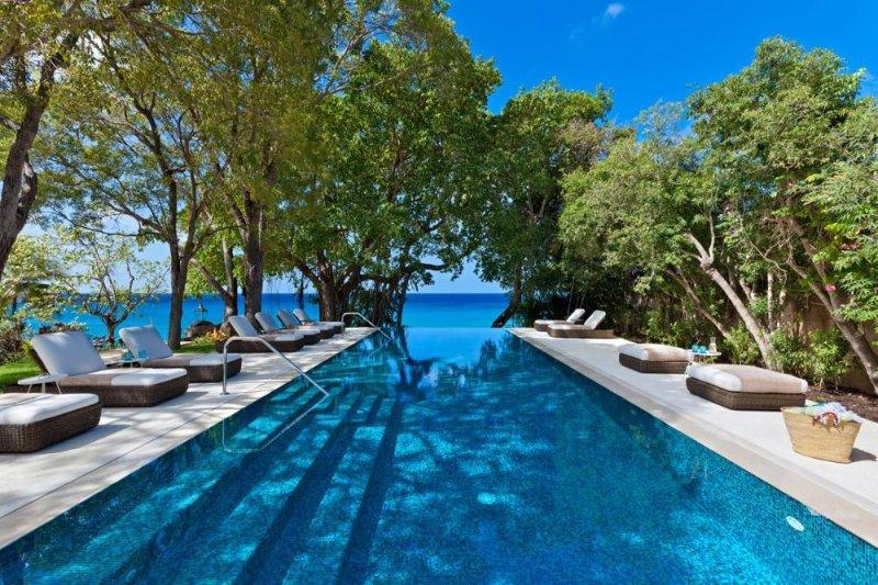 Luxury 10 bedroom Barbados villa. Beachfront!! - Image 1 - Barbados - rentals