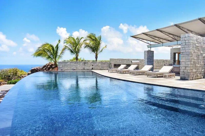 Luxury 5 bedroom St. Barts villa. Simplicity and luxurious comfort. - Image 1 - Marigot - rentals