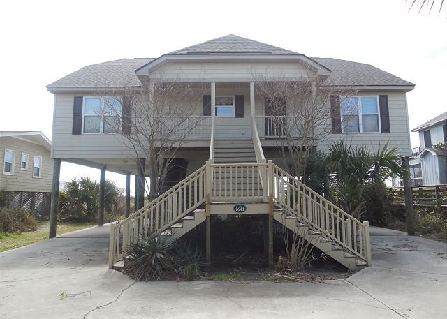 Streetside Exterior - Turtle Watch II - Breathtaking Views of the Atlantic - Folly Beach - rentals