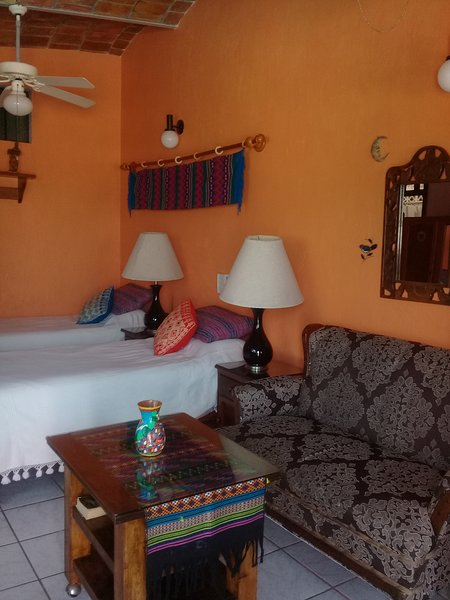 Sleeping area in Seabreeze - SEABREEZE: Beautiful Setting, Pool, Walk to Beach - La Penita de Jaltemba - rentals