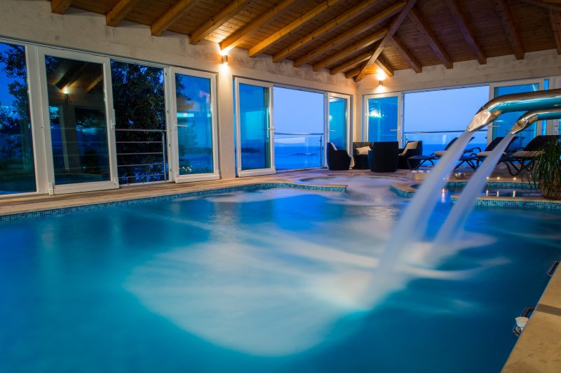 Villa Residence Lantoni with big indoor swim. pool in Mlini , Dubrovnik - Image 1 - Mlini - rentals